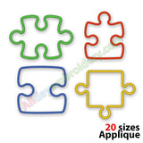 Puzzle piece applique