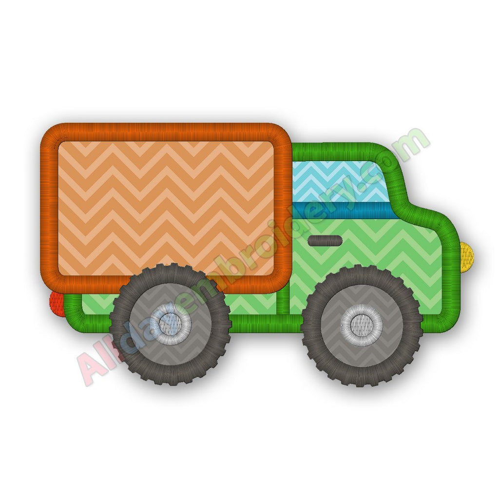 Moving Truck Applique