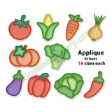 Vegetable embroidery