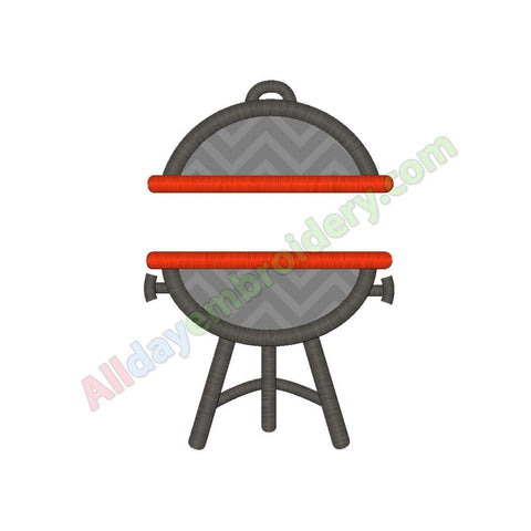 BBQ grill applique