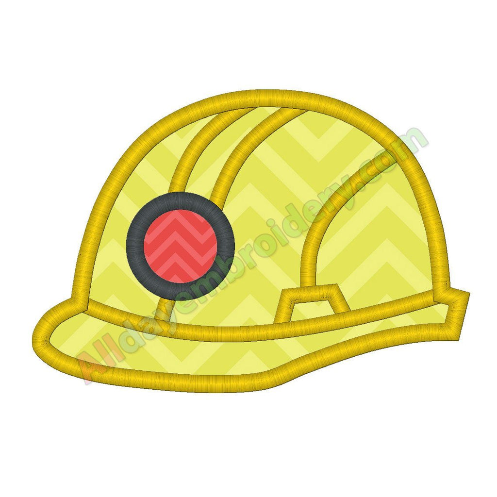 Construction Helmet applique
