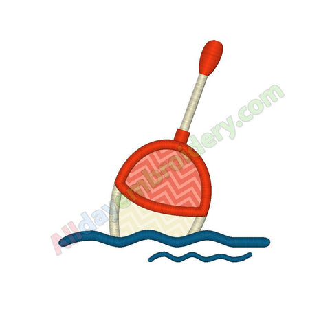 Fishing bobber applique