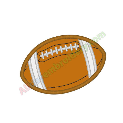 Football ball applique