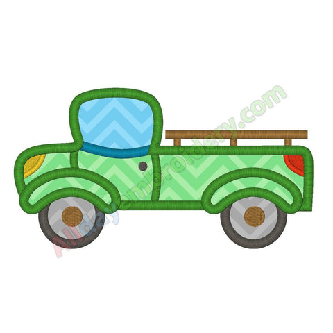Pickup truck applique