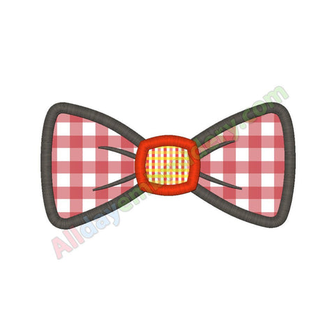 Bow tie applique
