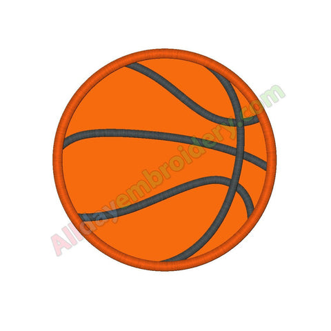Basketball ball applique