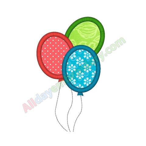 Balloons applique