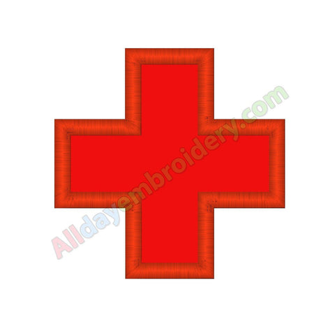 Medical cross applique