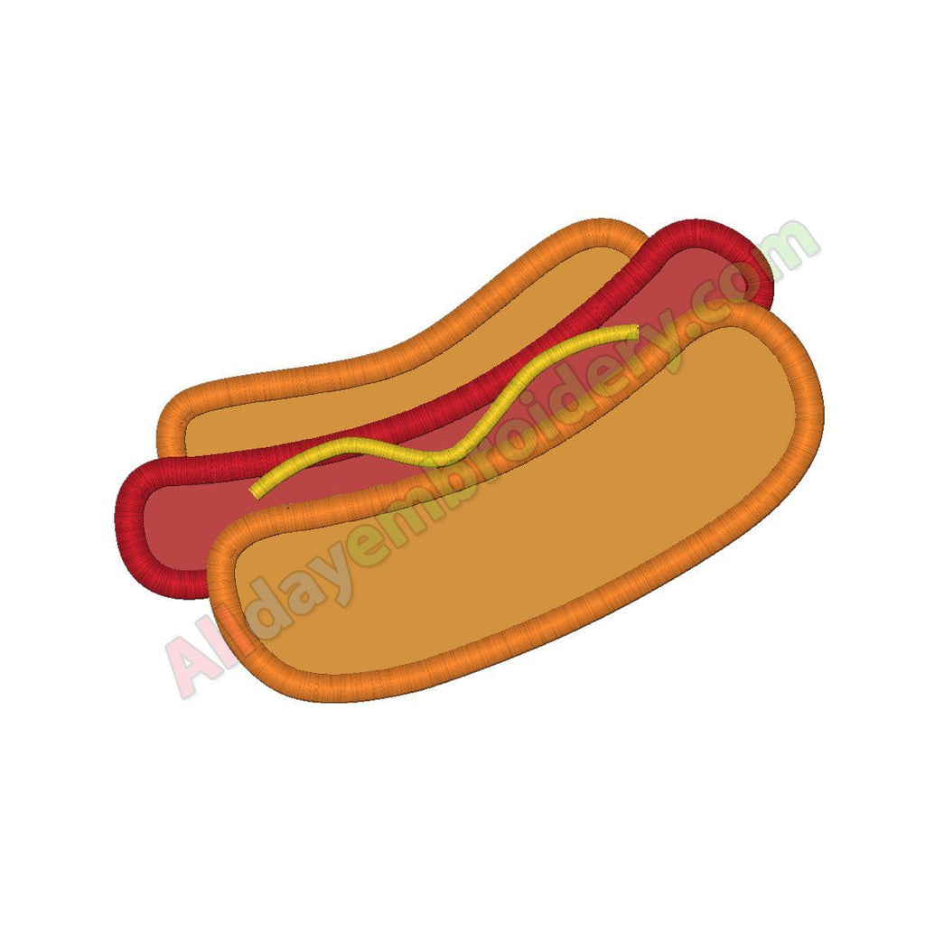 Hot dog applique