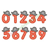 Number applique SET