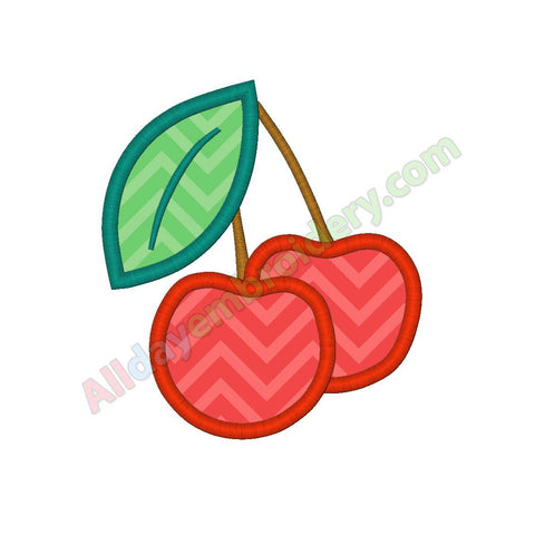 Cherries applique
