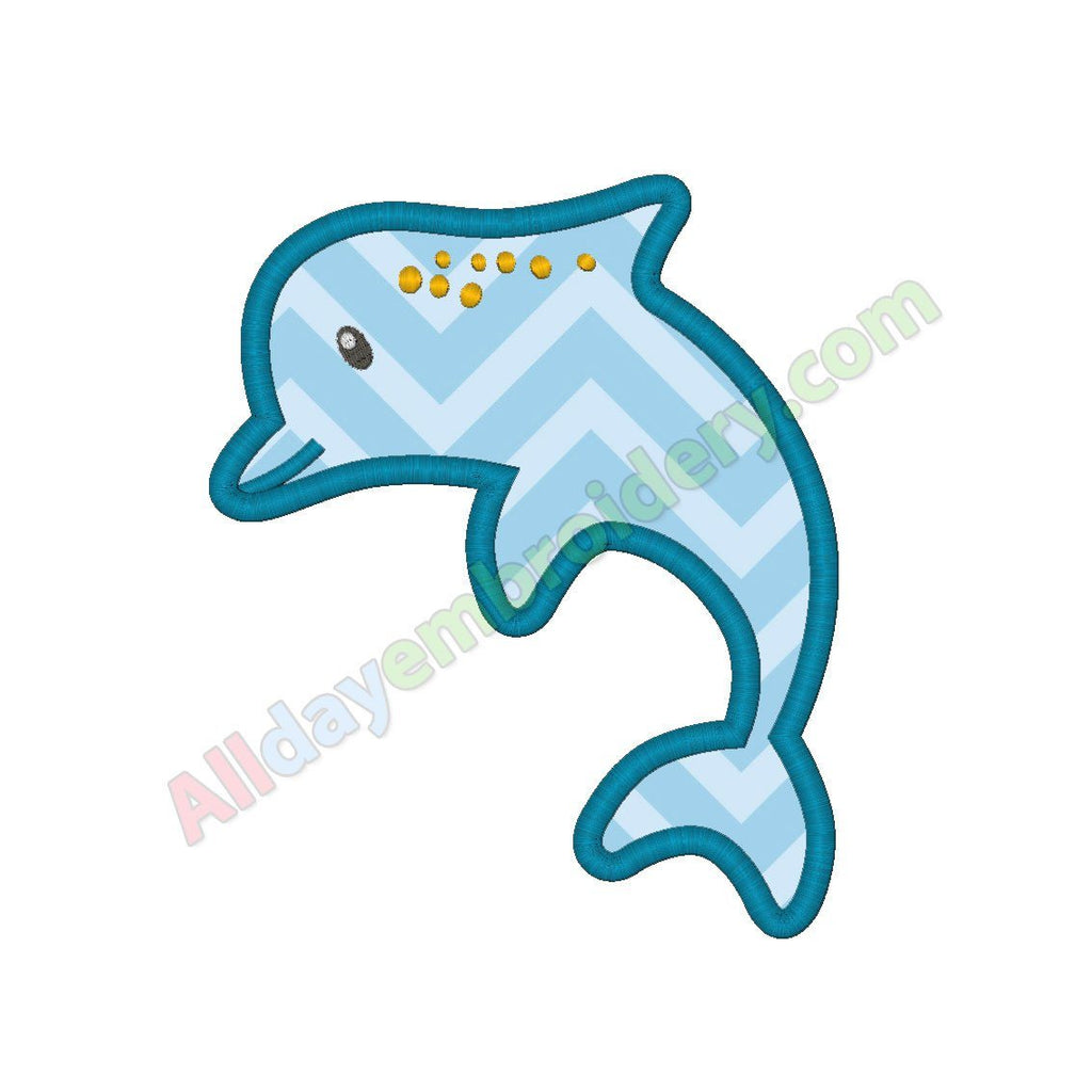 Dolphin applique