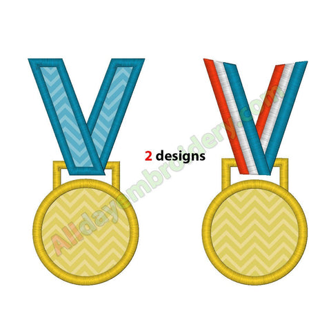 Medal applique