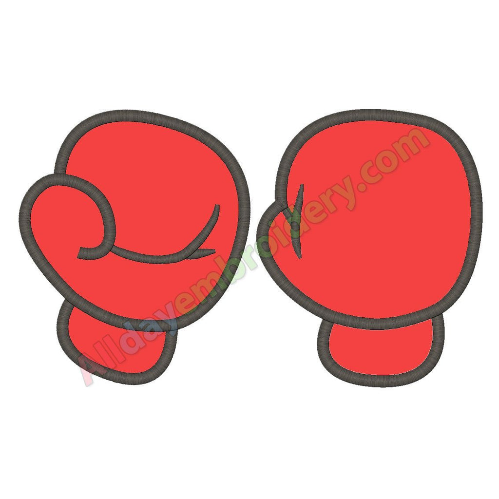 Boxing gloves applique