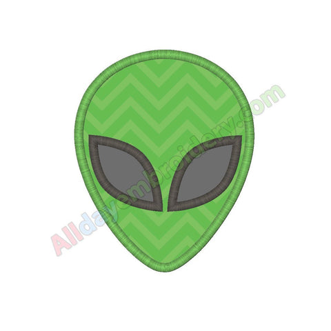 Alien head applique