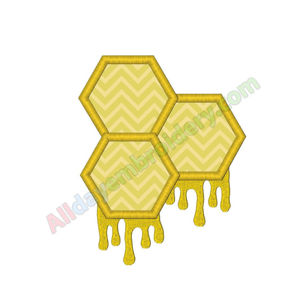 Honeycomb applique