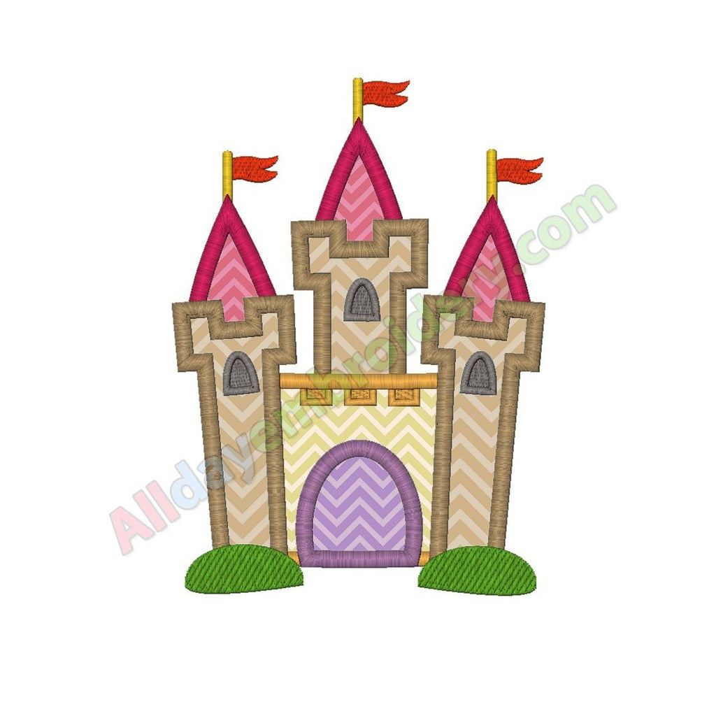 Castle applique