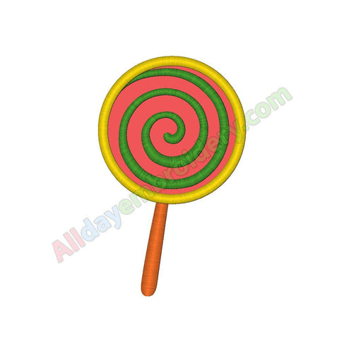 Lollipop / Candy applique