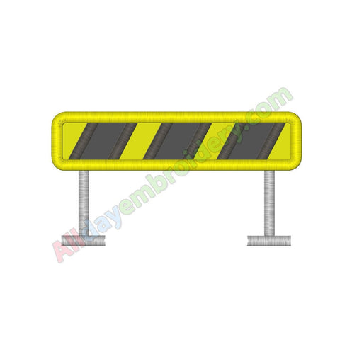 Construction barrier applique