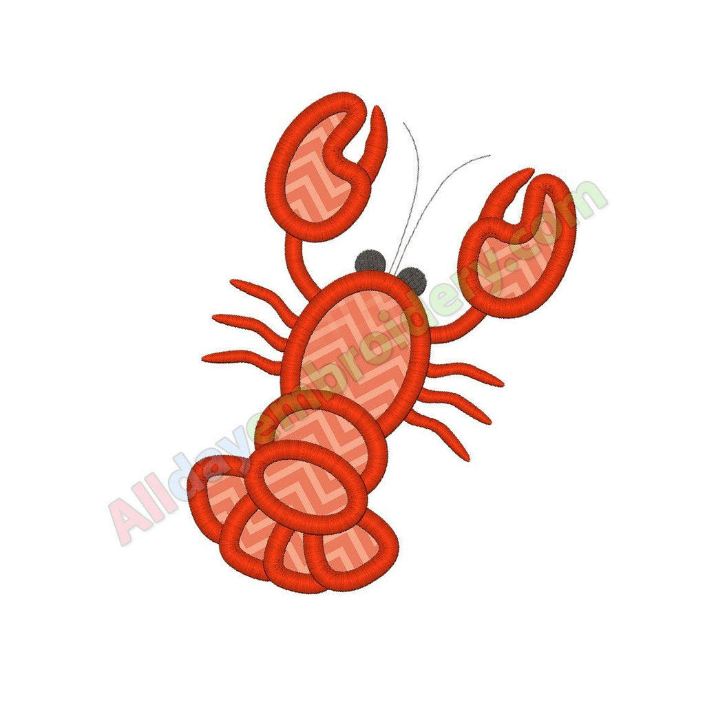 Lobster applique