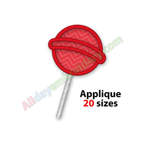 Lollipop Applique
