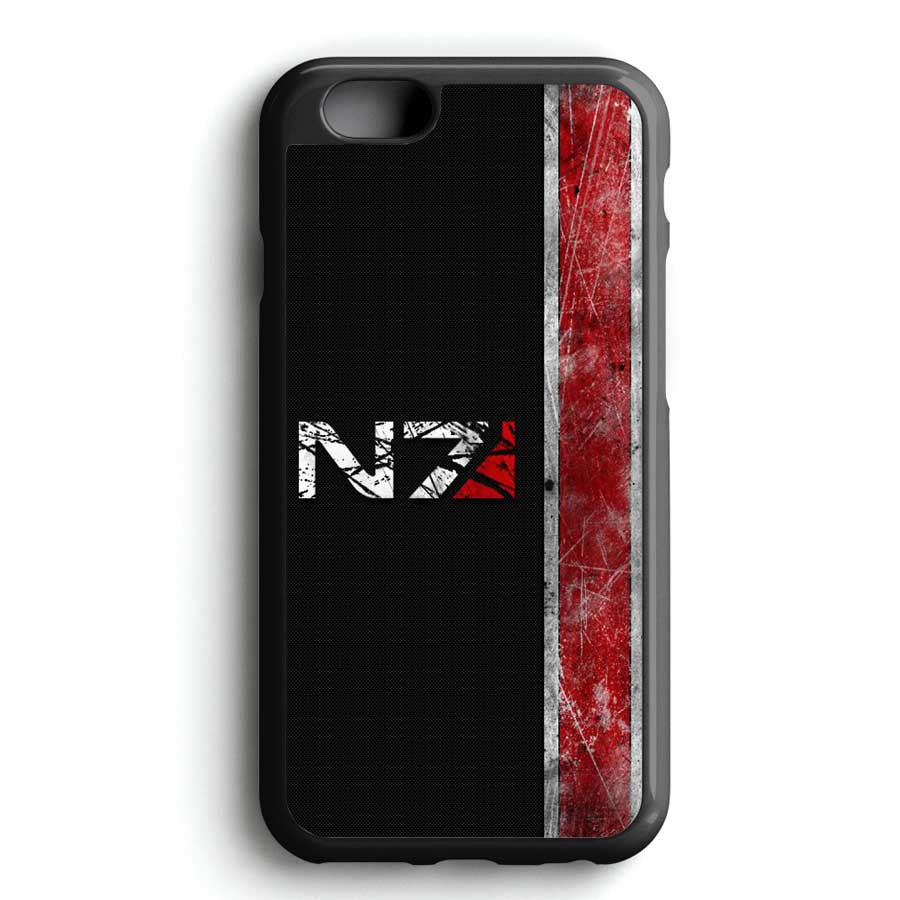 Carbon Mass Effect N7 Design iPhone 6S Case