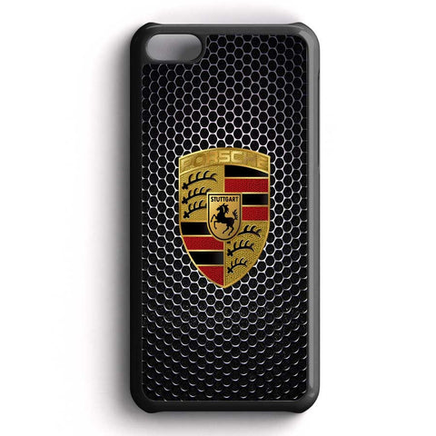 Logo Porsche Car Carbon iPhone 5C Case