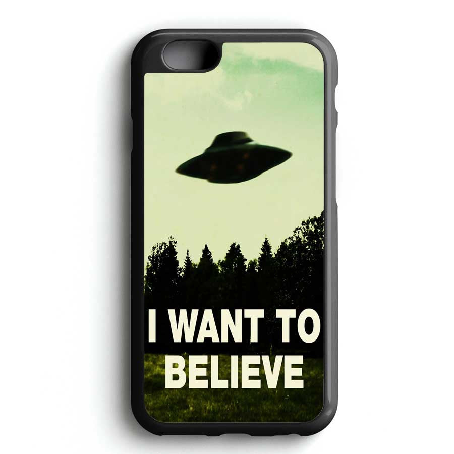I Want To Believe X File iPhone 7 Case