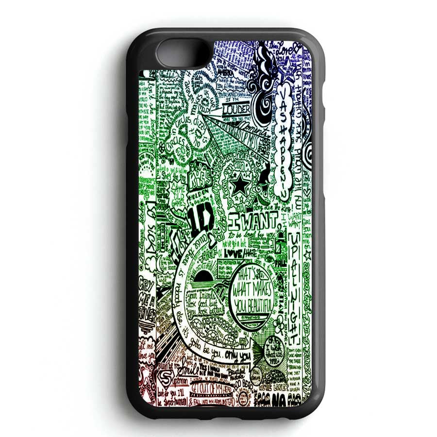 1d One Direction iPhone 6 Case