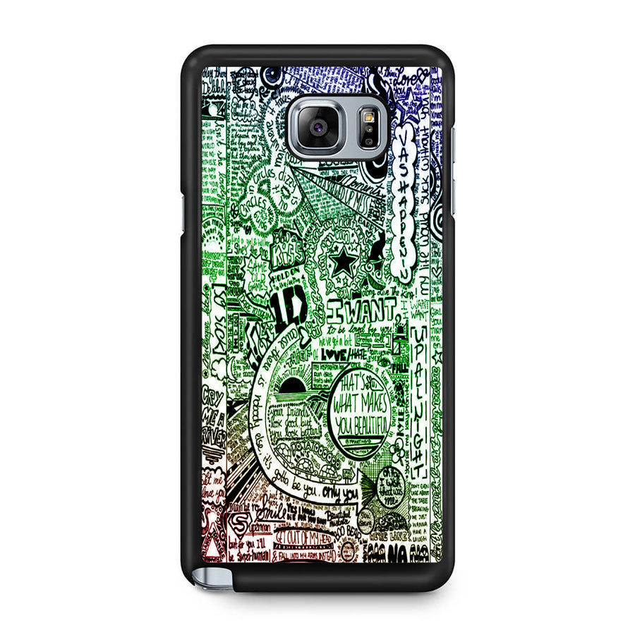 1d One Direction Samsung Galaxy Note 5 Case