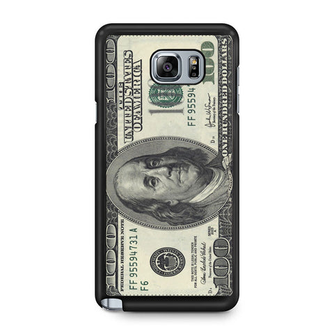 100 Dollar Samsung Galaxy Note 5 Case