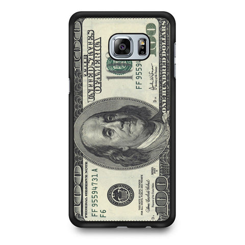 100 Dollar Samsung Galaxy S7 Edge Case
