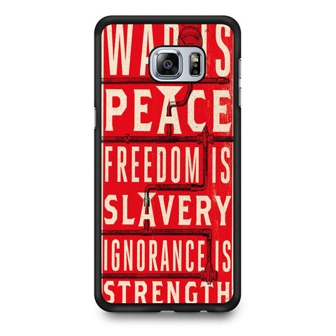 1984 Political Quotes Samsung Galaxy S7 Edge Case