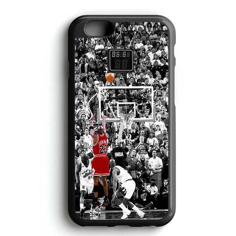 Michael Jordan Shot In Nba iPhone 6S Case