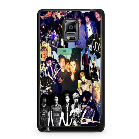 5 Second Of Summer Collage Samsung Galaxy Note Edge Case