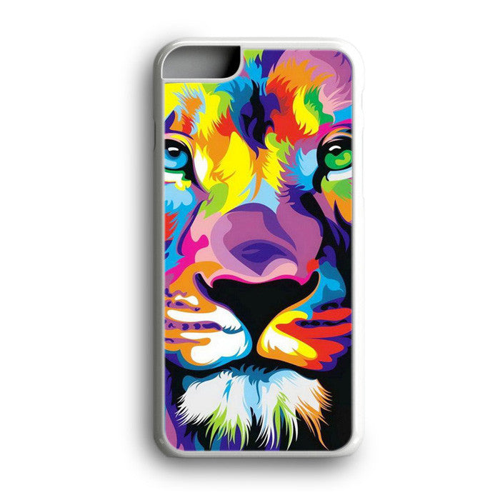 Lion Lion Colorful Animal Art iPhone 7 Plus