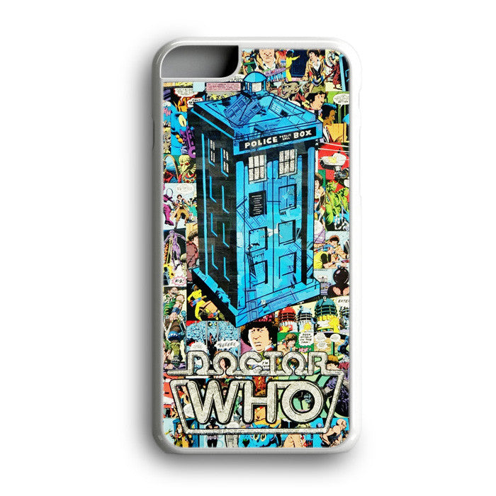 Doctor Who Tardis Collage Art iPhone 7 Plus