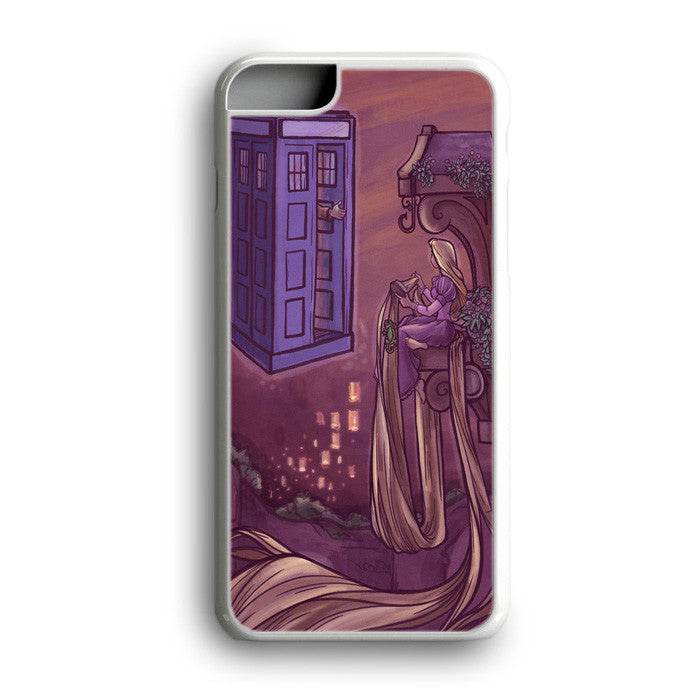 Doctor Who Tangled Princess Rapunzel iPhone 7 Plus