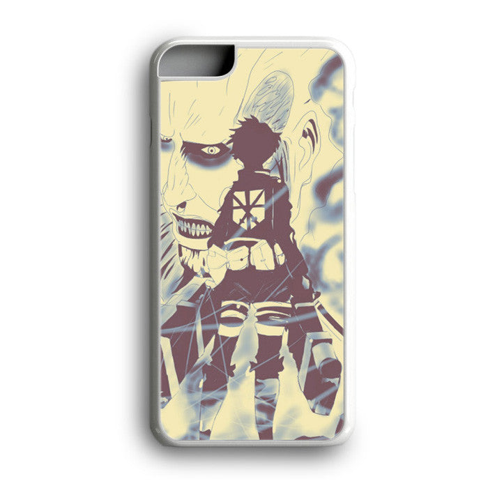 Attack On Titan Cartoon Anime iPhone 7 Plus