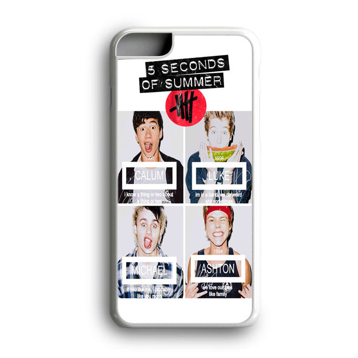 5 Seconds Of Summer Calum Luke iPhone 7 Plus