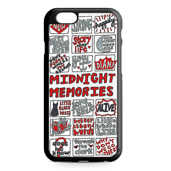 1D One Direction Midnight Memories iPhone 7