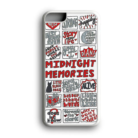 1D One Direction Midnight Memories iPhone 6 Plus