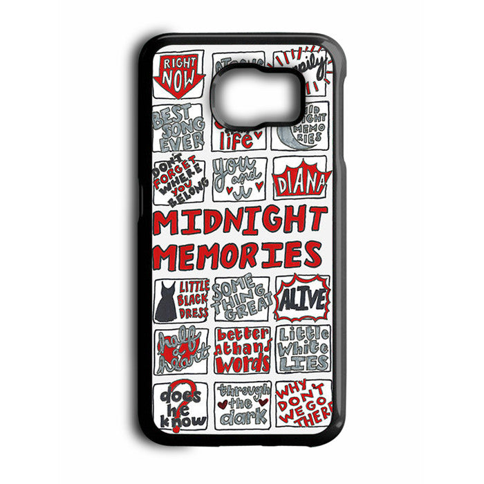 1D One Direction Midnight Memories Samsung Galaxy S6