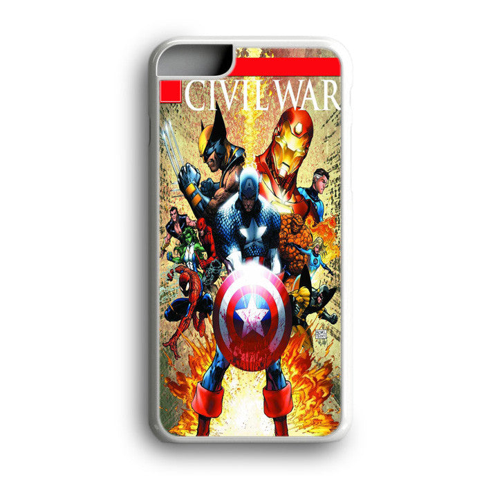 Iron Man Captain America Wolverine iPhone 7 Plus