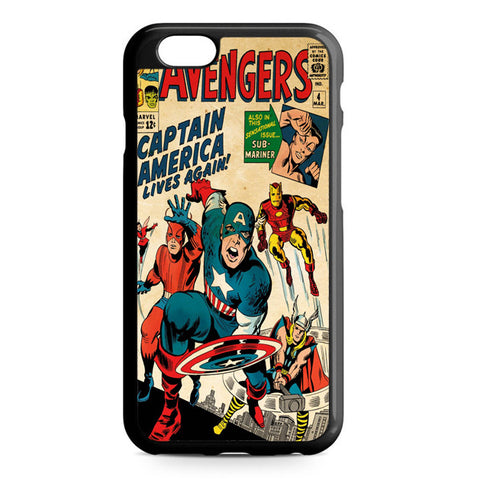 Classic Comic Of The Avenger iPhone 7