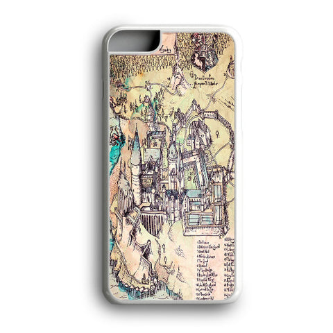 Harry Potter Hogwarts Maps iPhone 6S Plus