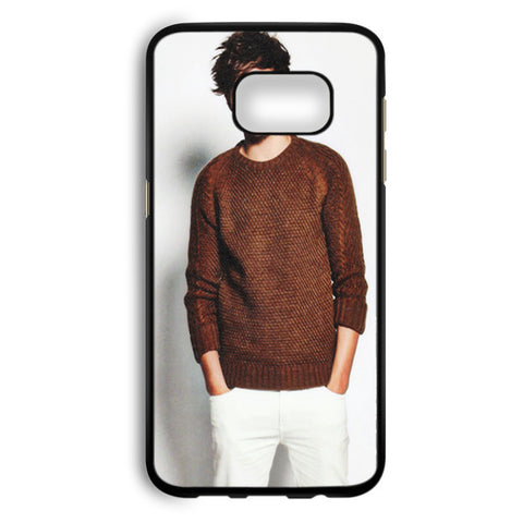 1D Louis Tomlinson One Direction Boyband Samsung Galaxy S7 Edge