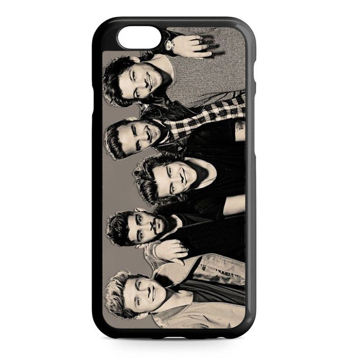 1D One Direction Black And White iPhone 6