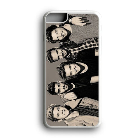 1D One Direction Black And White iPhone 6 Plus