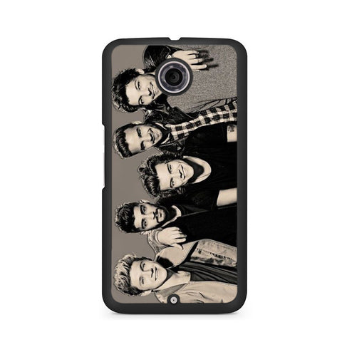 1D One Direction Black And White Nexus 6
